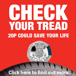 check your tyre tread